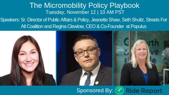 The Micromobility Policy Playbook