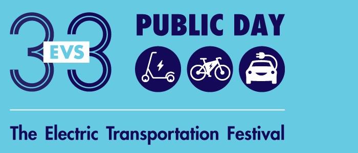 EVS33 Public Day: The Electric Transportation Festival